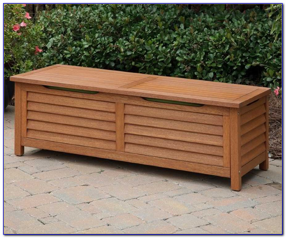 Diy Deck Benches With Storage
