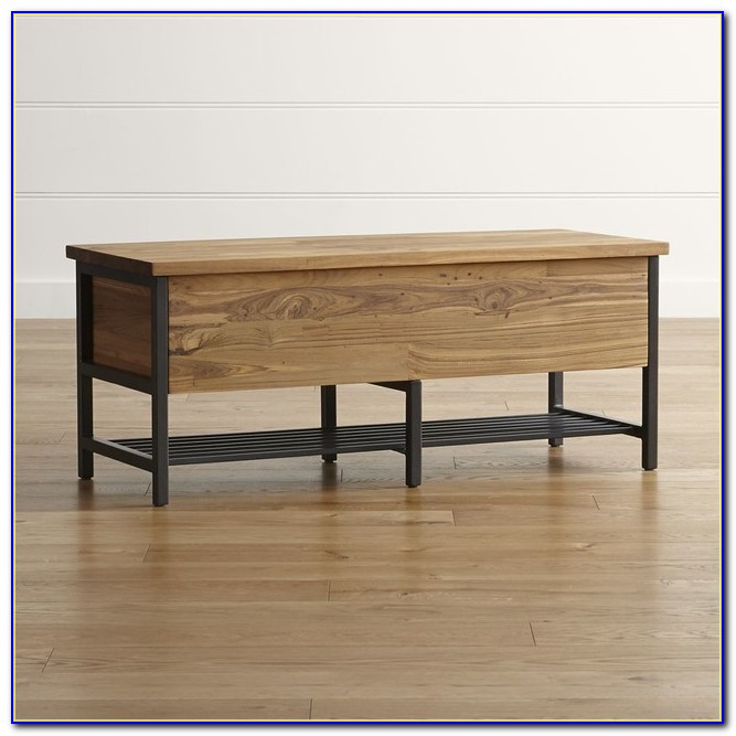 Diy Dining Room Bench With Storage