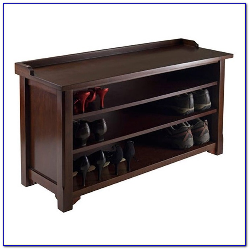 Entry Bench With Shoe Storage Australia