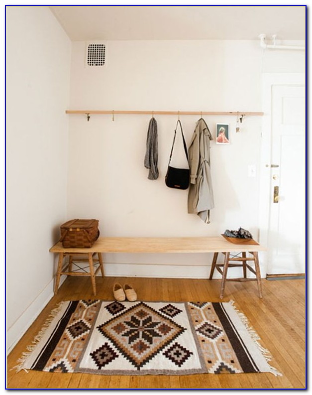 Entryway Bench Coat Rack Ikea