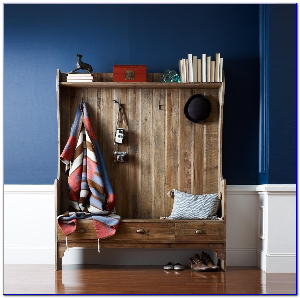 Entryway Coat Rack Bench