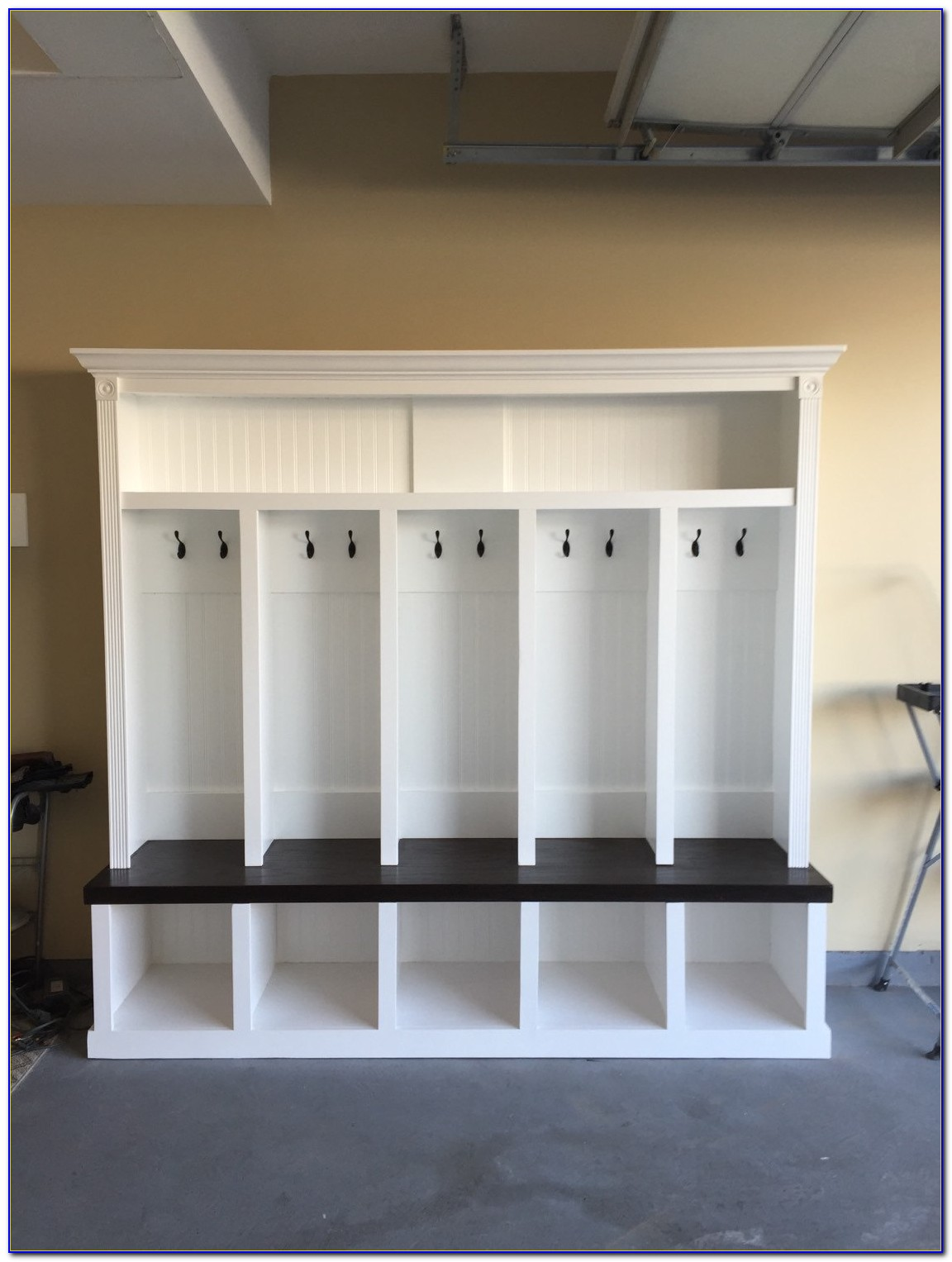 Entryway Cubbies With Bench