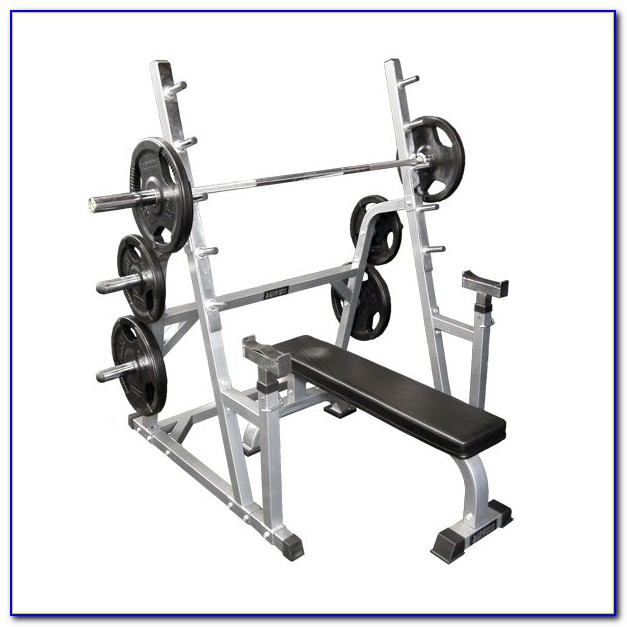 Everlast Olympic Weight Bench & Squat Rack