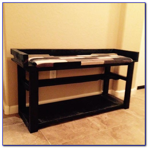 Family Entryway Shoe Cabinet Bench
