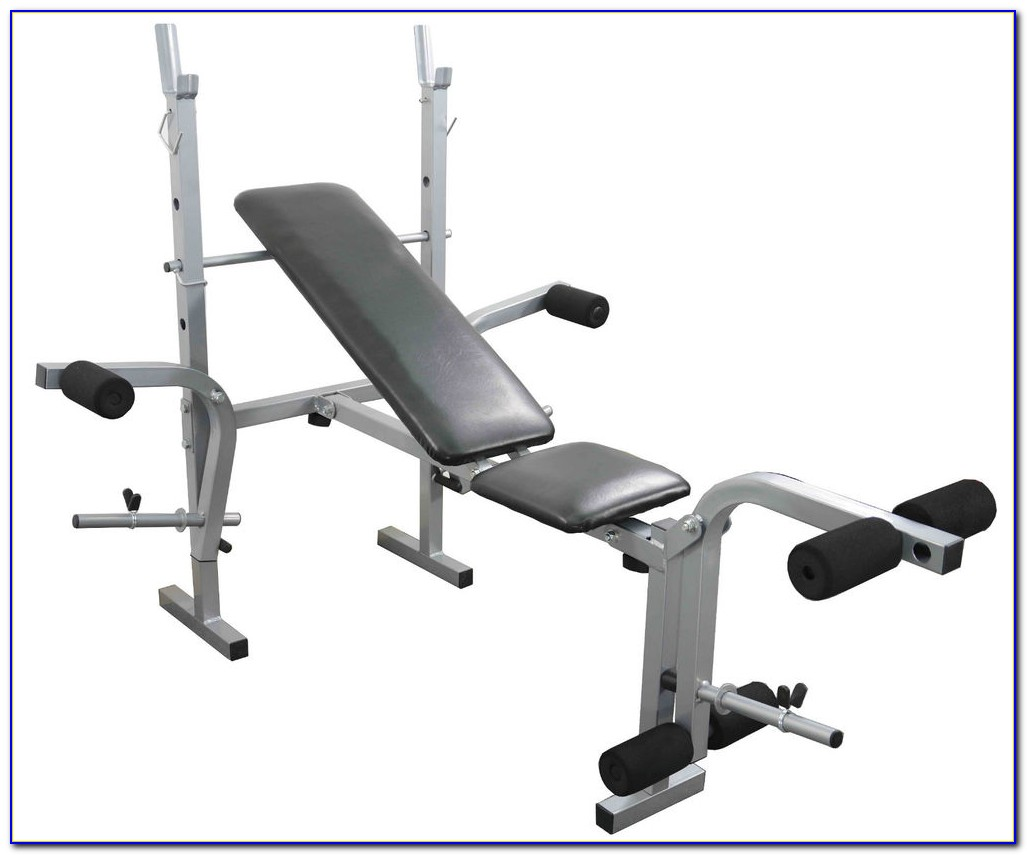 Fitness Exercise Bench With Weights