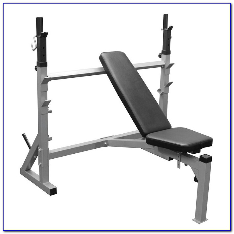 Flat Incline Decline Bench With Leg Curl
