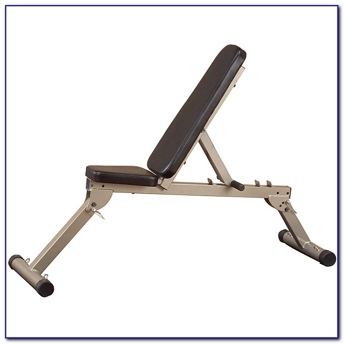 Fold Away Flat Weights Bench
