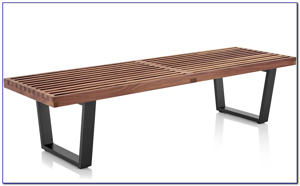 George Nelson Platform Bench By Herman Miller