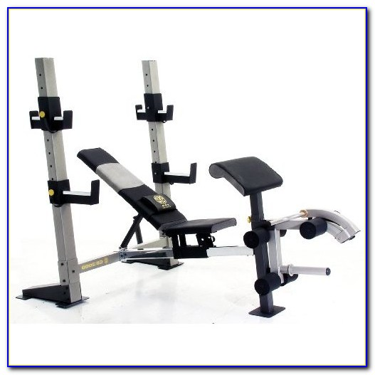 Gold Gym Olympic Weight Bench
