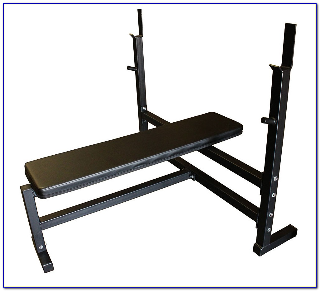 Golds Gym Olympic Weight Bench Set