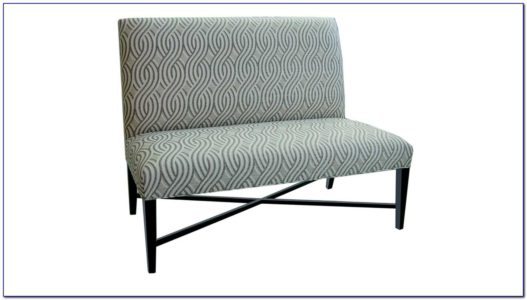 High Back Upholstered Dining Bench