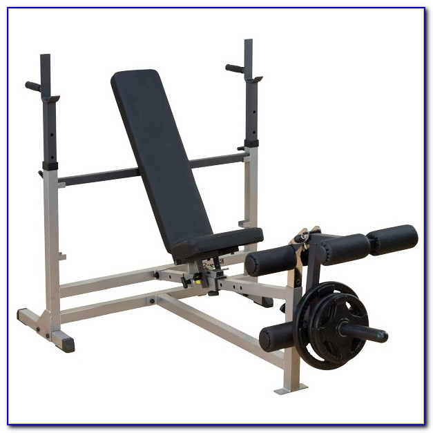 Home Weight Bench With Lat Pulldown