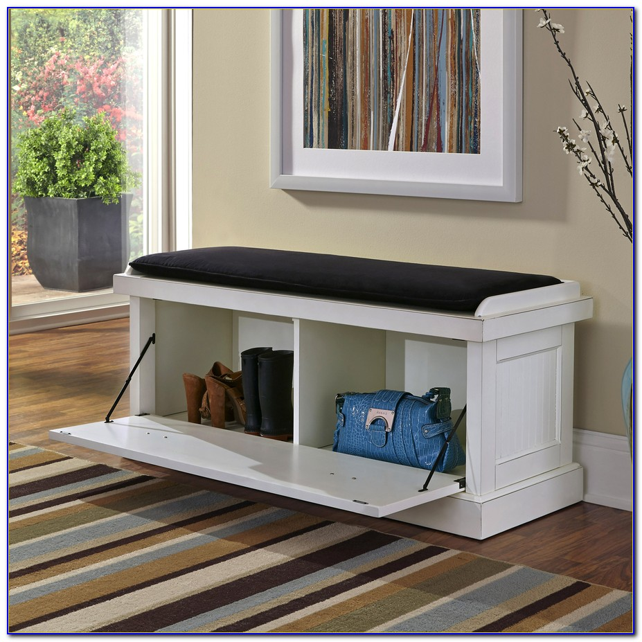 Indoor Seating Benches With Storage