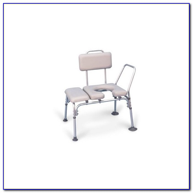 Invacare Transfer Bench With Commode Opening