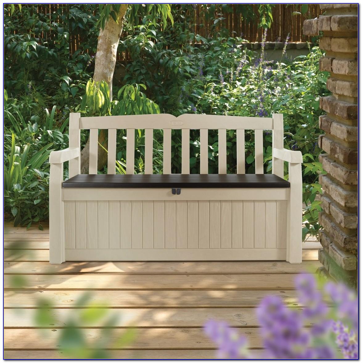 Keter Eden Garden Bench With Storage