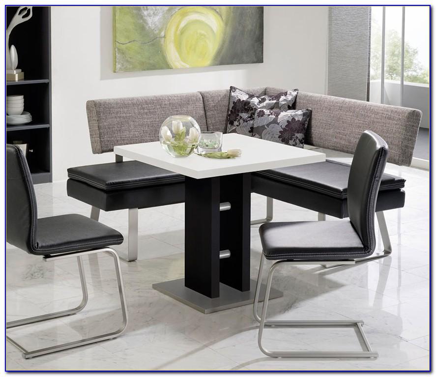 Kitchen Table With Corner Storage Bench