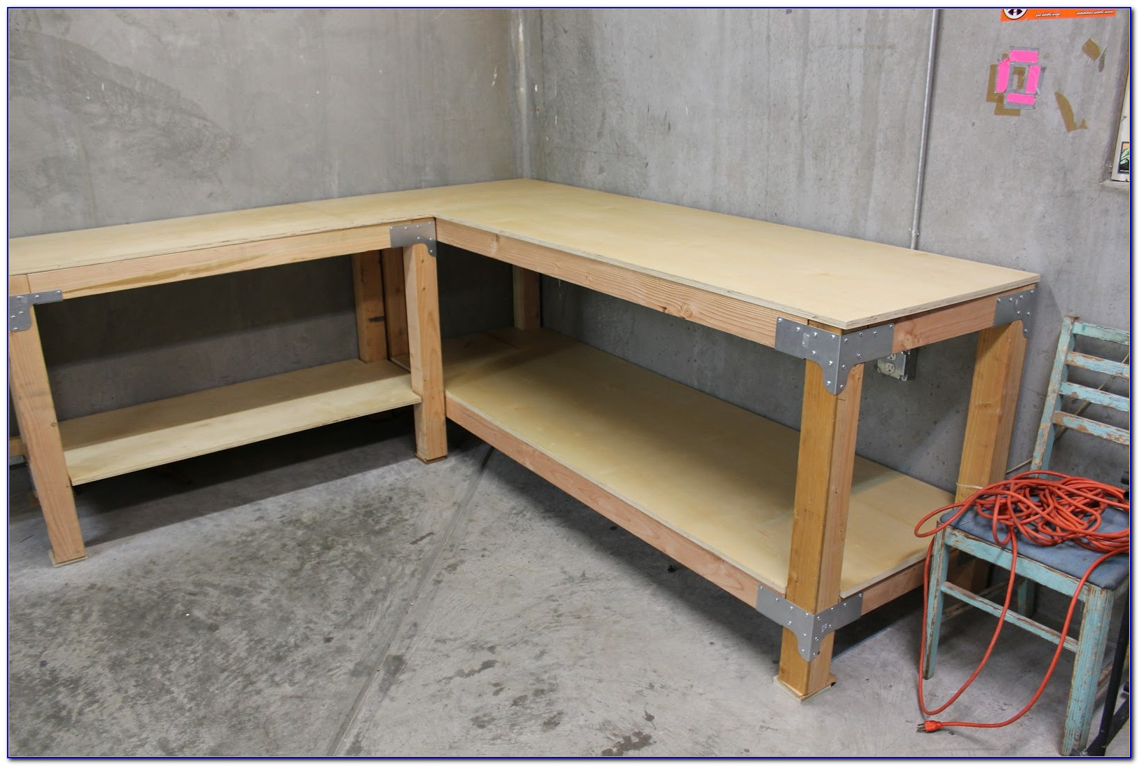 L Shaped Workbench Plans