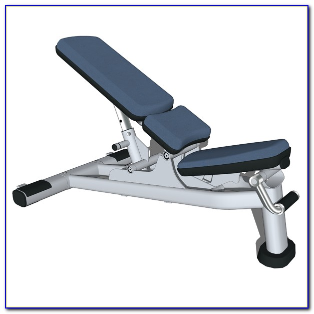 Life Fitness Free Weight Bench