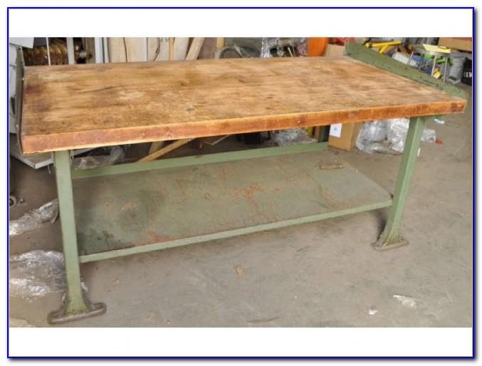 Maple Butcher Block Workbench