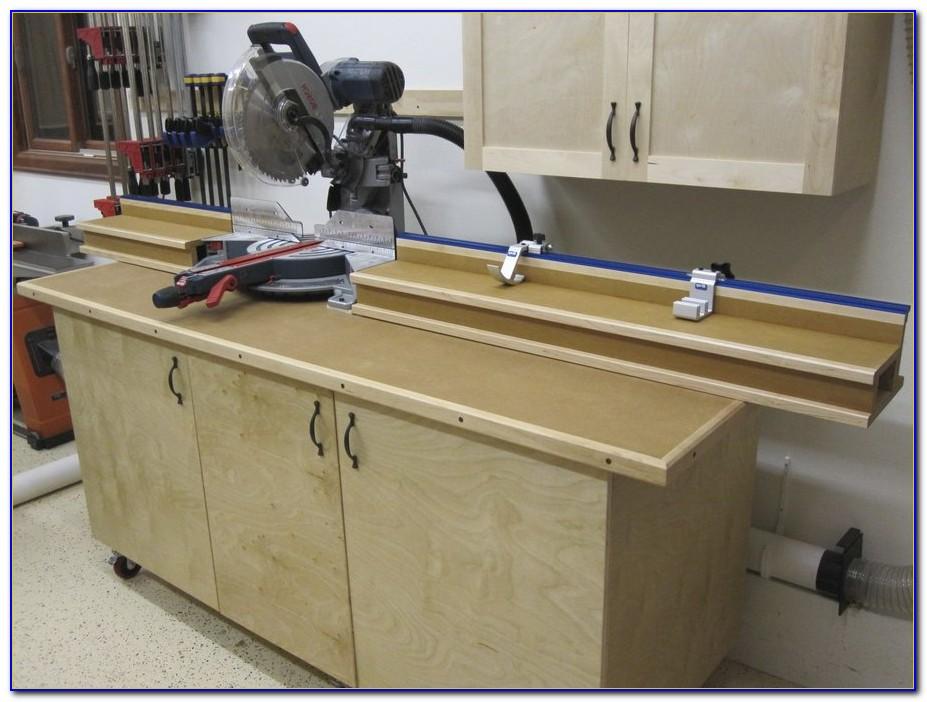 Miter Saw Stand Workbench