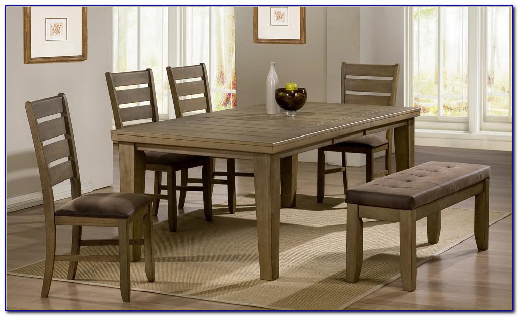 Modern Bench Dining Room Set