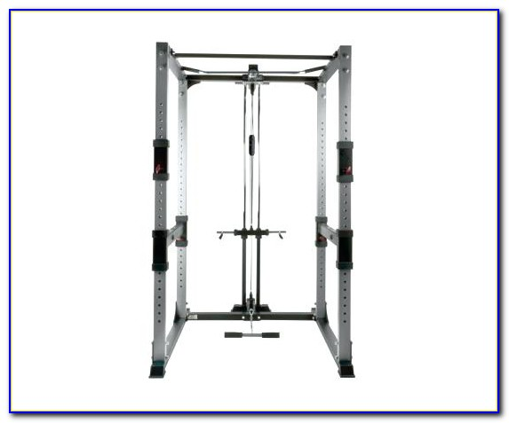 Multifunction Weight Bench With Lat Tower
