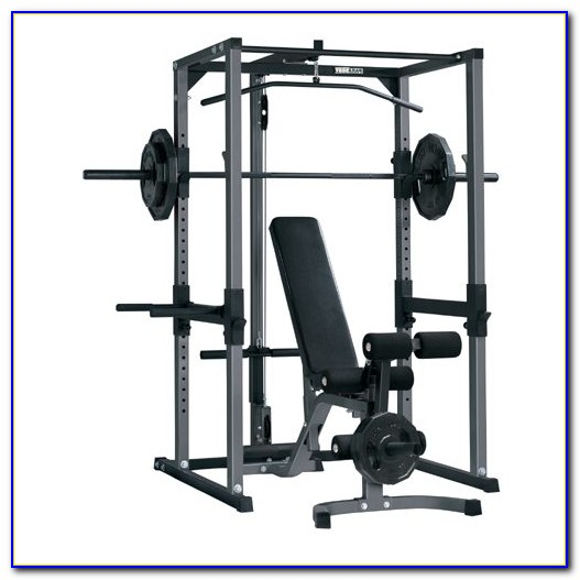Olympic Weight Bench With Lat Tower