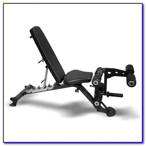 Olympic Weight Bench With Leg Extension