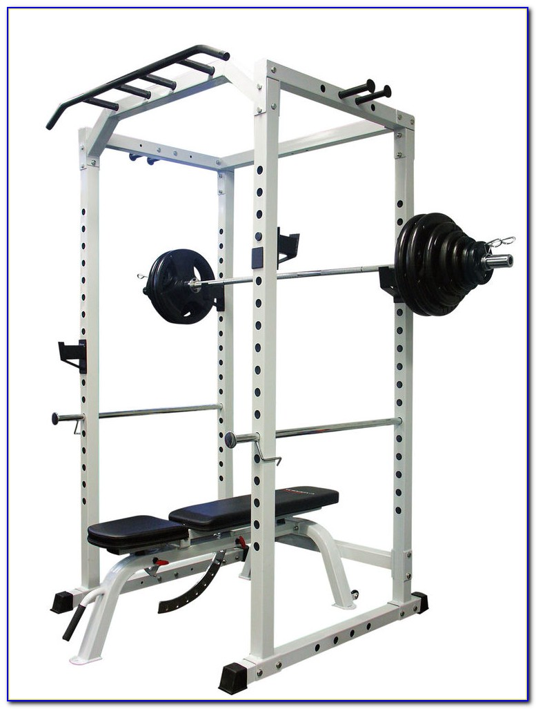 Olympic Weight Set With Bench And Squat Rack