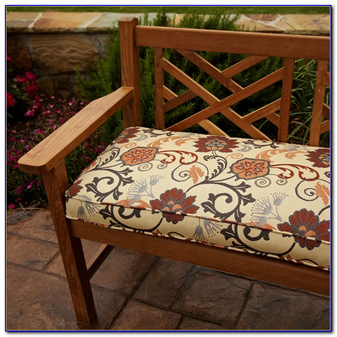 Outdoor 48 Bench Cushions