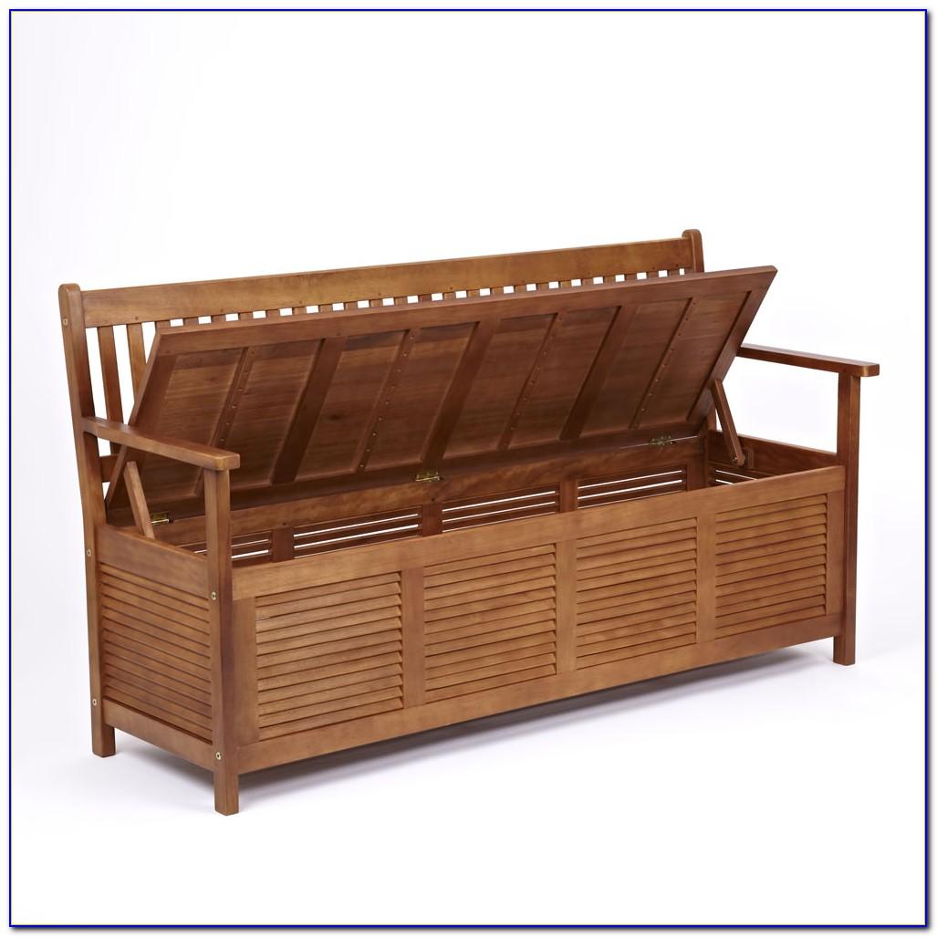 Outdoor Bench With Storage Underneath