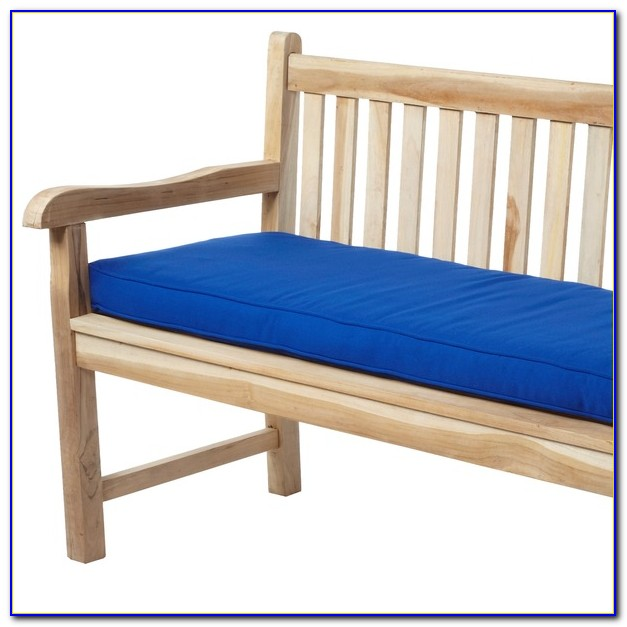 Outdoor Glider Bench With Cushions