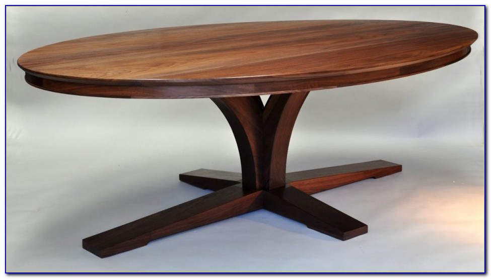 Oval Dining Table With Bench Seating
