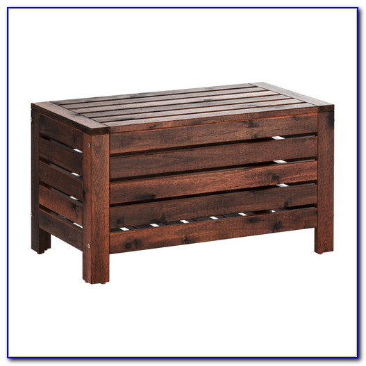 Porch Bench With Storage Plans