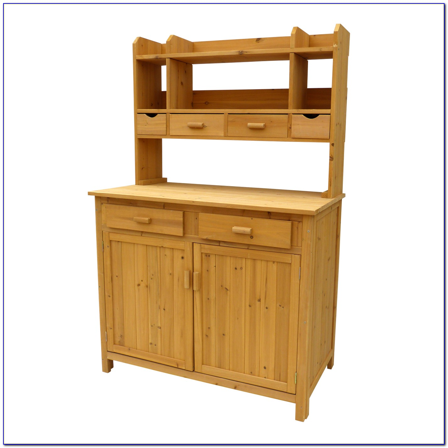 Potters Bench With Storage