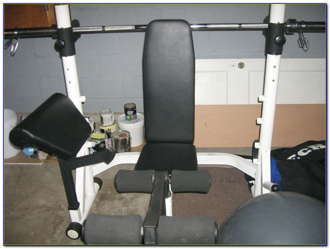 Powerhouse Gym Weight Bench