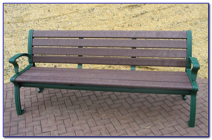 Recycled Plastic Memorial Park Benches