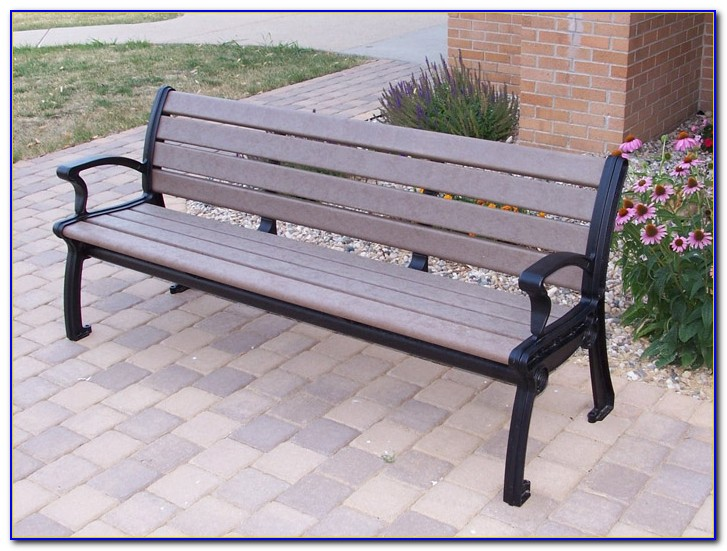 Recycled Plastic Park Bench Kits