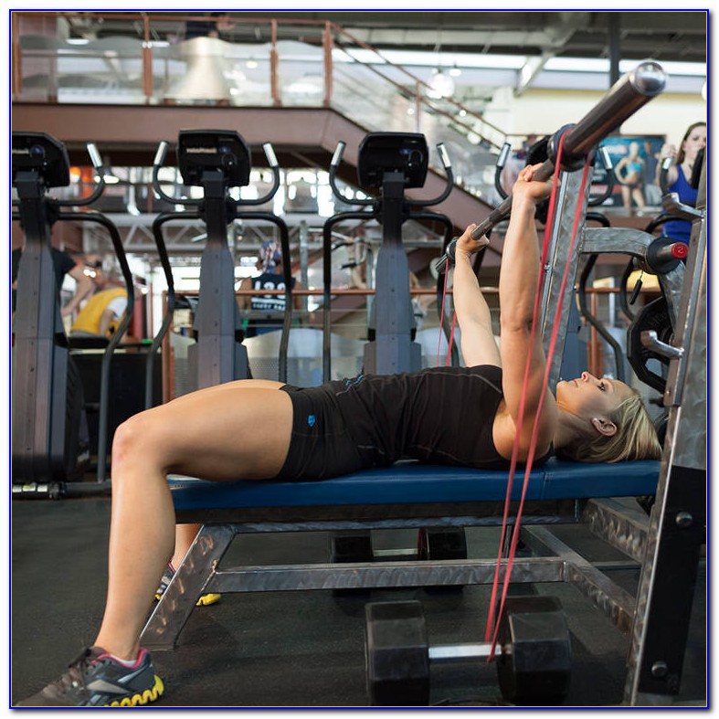 Resistance Band Bench Press Workout