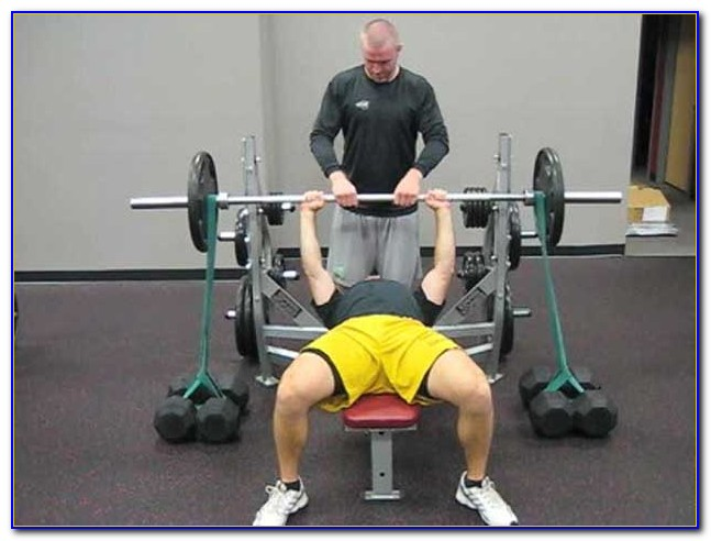 Resistance Bands Bench Press Video
