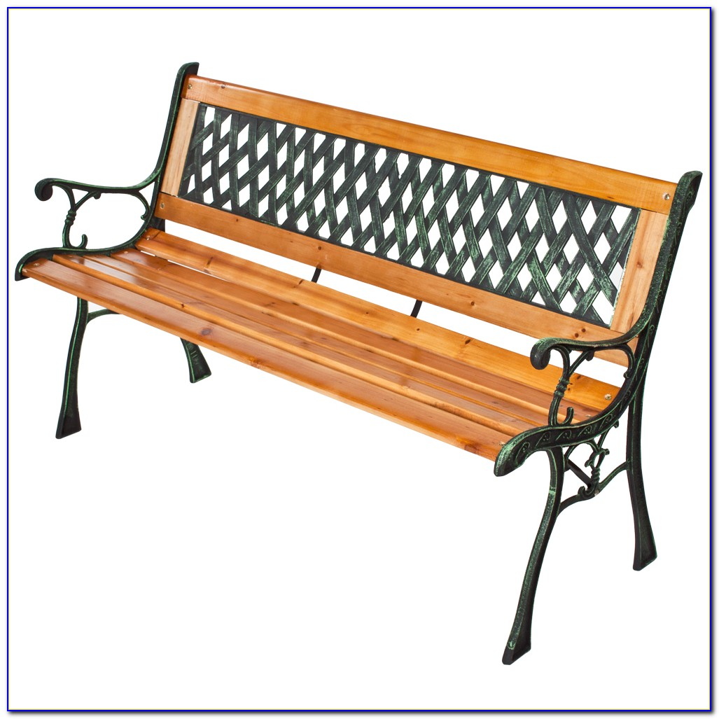 Restoring Cast Iron And Wood Bench