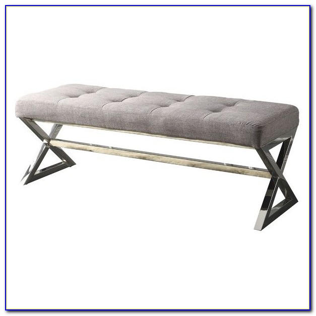Roma Tufted End Of Bed Bench