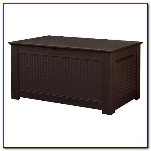 Rubbermaid Patio Chic Tm Storage Bench Deck Box
