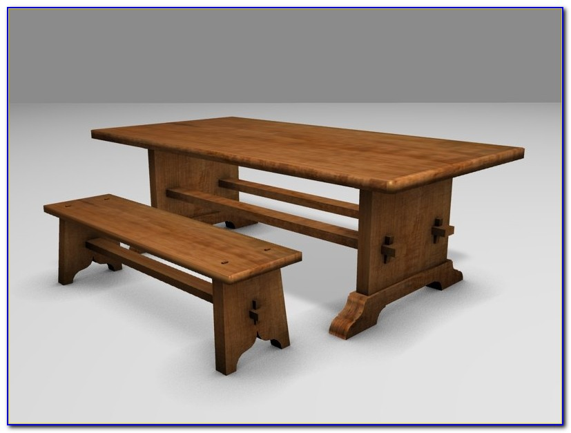 Sauder Beginnings Trestle Dining Table With Benches Multiple Finishes