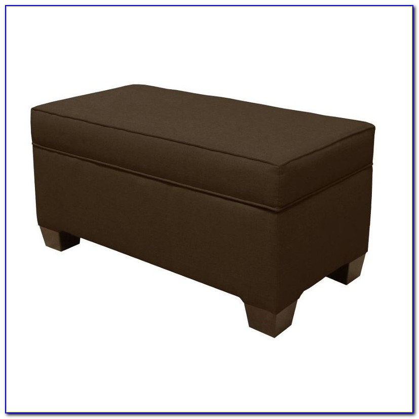 Skyline Furniture Skirted Storage Bench