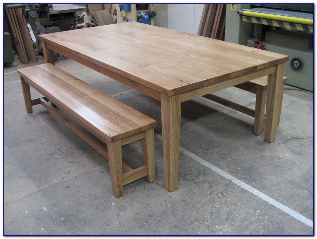 Solid Wood Dining Table Bench