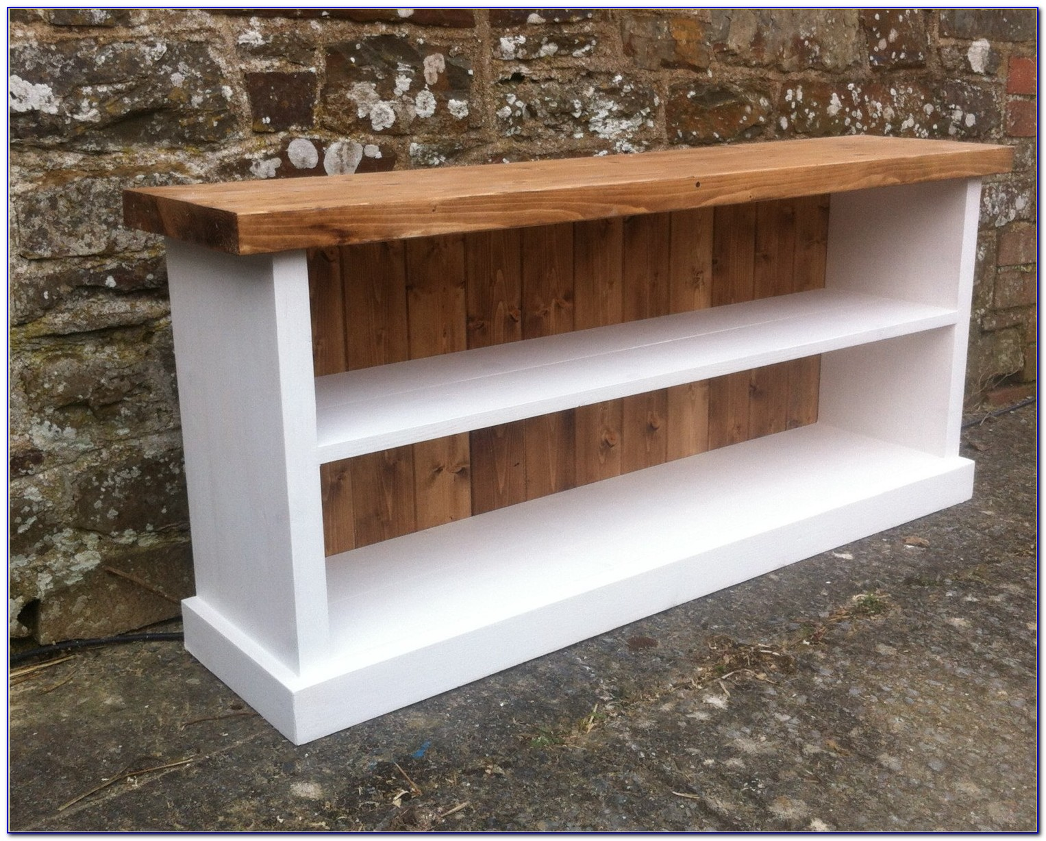 Solid Wood Shoe Bench Storage