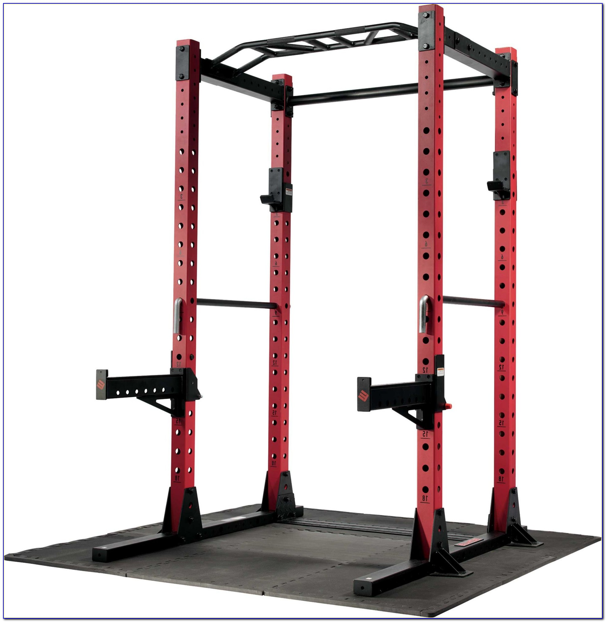 Squat Rack And Bench Press Combo