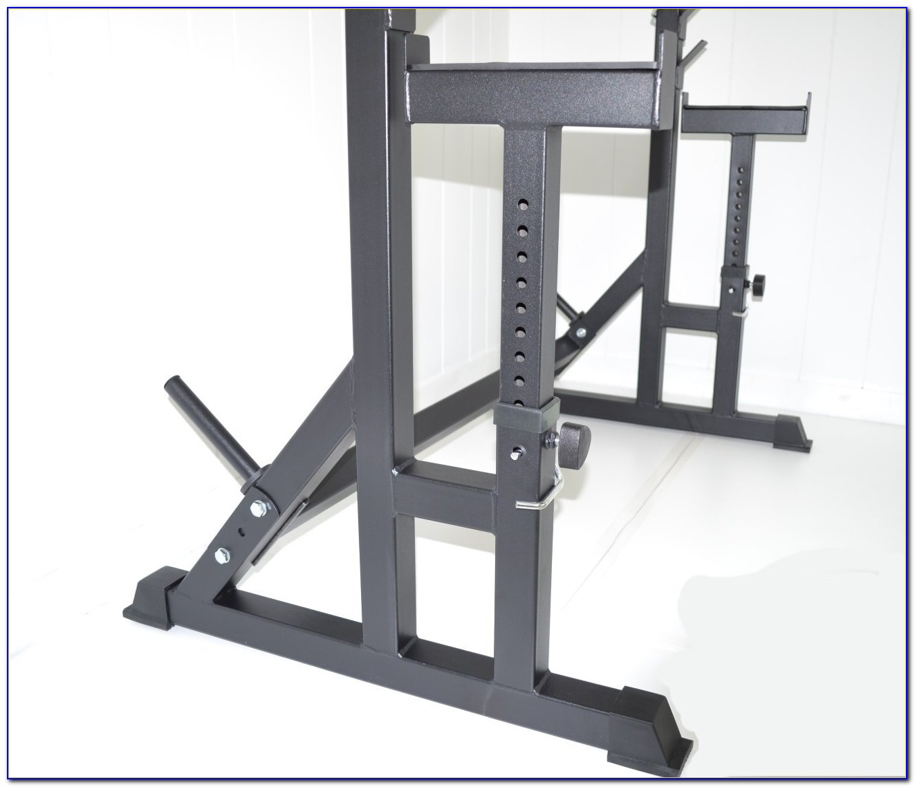 Squat Rack Bench And Weights