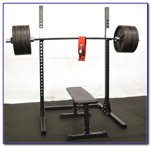 Squat Rack Bench Press Combo